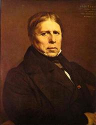 Ingres. Autoportrait (1858)
