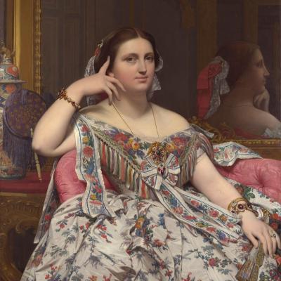 Ingres. Madame Moitessier (1856)