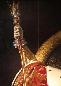 Le sceptre de Charles V (détail)