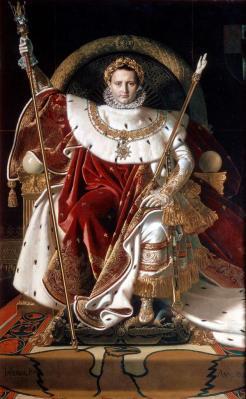 Ingres. Napoléon sur le trône impérial (1806)