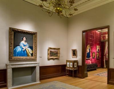 Ingres. Princesse de Broglie au MET, New York