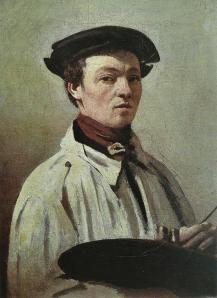 J-B. Corot. Autoportrait (v. 1835)