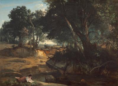 J-B. Corot. Forêt de Fontainebleau (1934)