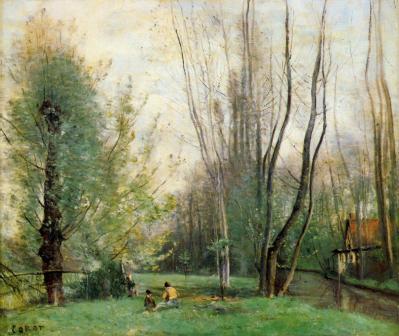 J-B. Corot. Matin près de Beauvais (v. 1860)