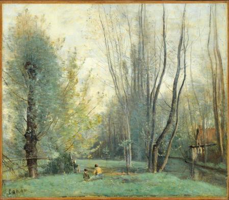 Jean-Baptiste-Camille Corot. Matin près de Beauvais (v. 1860)