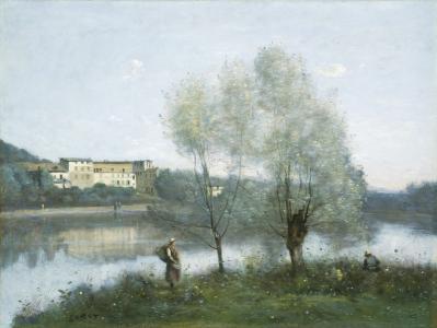 J-B. Corot. Ville-d'Avray (1865)