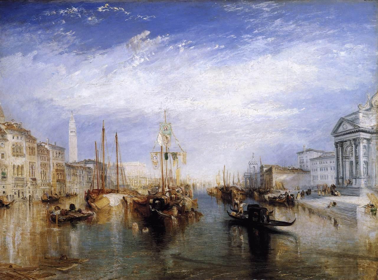 J M W Turner Le Grand Canal Venise 1835