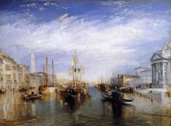 J.M.W. Turner. Le Grand Canal, Venise (1835)