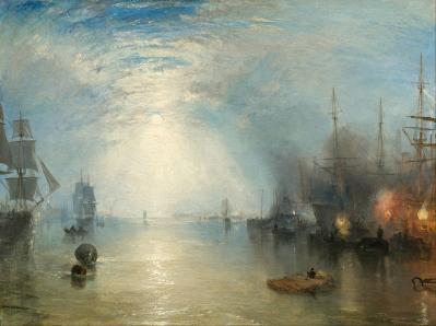 J.M.W. Turner. Marins chargeant du charbon au clair de lune (1835)