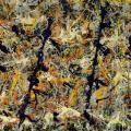Jackson Pollock. Poteaux bleus, numéro 11 (1952)