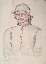 Jacques de Boucq. Portrait de Jérôme Bosch (v. 1550)