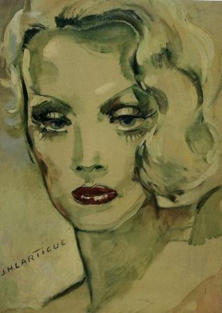 Jacques Henri Lartigue. Marlène Dietrich (1933)