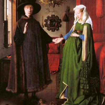 Jan Van Eyck. Les Époux Arnolfini (1434)