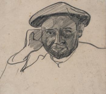 Jan Verkade. Portrait de Charles Filiger (1891)