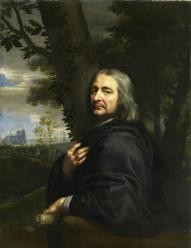 Jean-Baptiste de Champaigne. Philippe de Champaigne, peintre, oncle de l'artiste (1668)