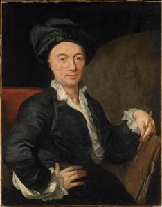 Jean-Baptiste Pater. Autoportrait (?) (1720-1736)