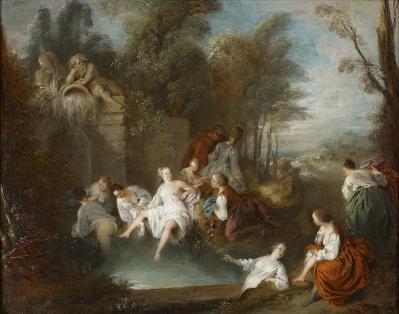 Jean-Baptiste Pater. Les baigneuses (v. 1730)