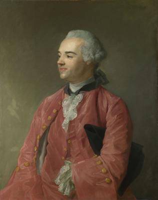 Jean-Baptiste Perronneau. Portrait de Jacques Cazotte (1760-65)