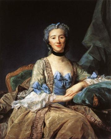 Jean-Baptiste Perronneau. Portrait de Madame de Sorquainville (1749)