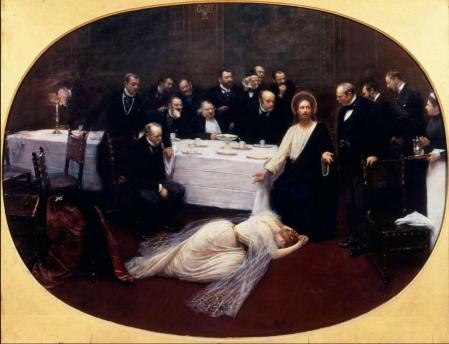 Jean Béraud. La Madeleine chez le Pharisien (1891)