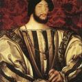 Jean Clouet. Portrait de François Ier (1525-30)