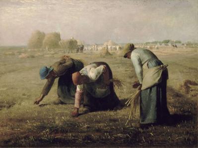 Jean-François Millet. Des glaneuses (1857)