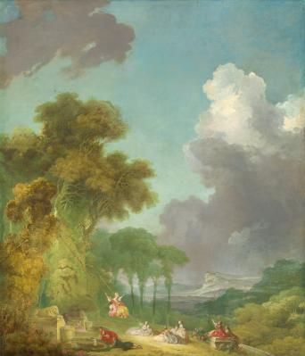 Jean-Honoré Fragonard. La balançoire (1775-80)