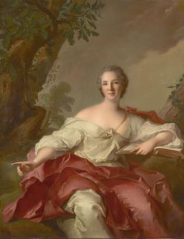 Jean-Marc Nattier. Portrait de Madame Geoffrin (1738)