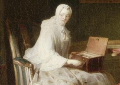 Jean-Siméon Chardin. La serinette, détail