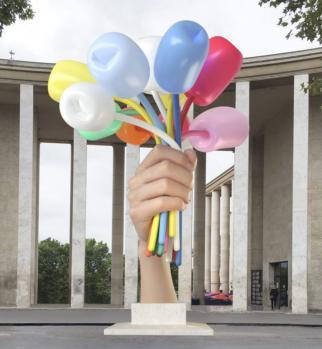 Jeff Koons. Bouquet of Tulips