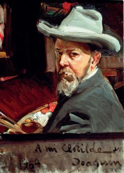 Joaquín Sorolla. Autoportrait (1909)