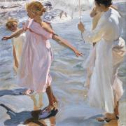 Joaquín Sorolla. L'heure du bain (1909)