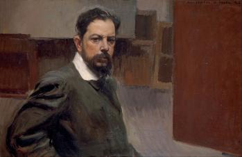 Joaquín Sorolla. Autoportrait (1904)