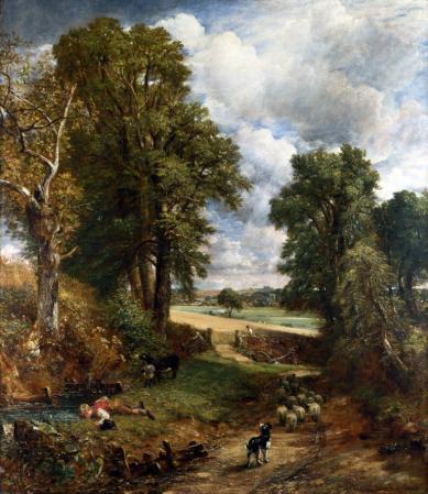 John Constable. Le champ de blé (1826)