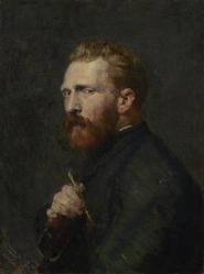 John Peter Russell. Portrait de Vincent van Gogh (1886)