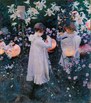 John Singer Sargent. Carnation, Lily, Lily, Rose (1885-86)