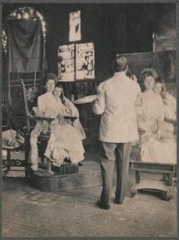 John Singer Sargent et ses modèles en 1903