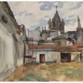 John Singer Sargent. Evora (1903)