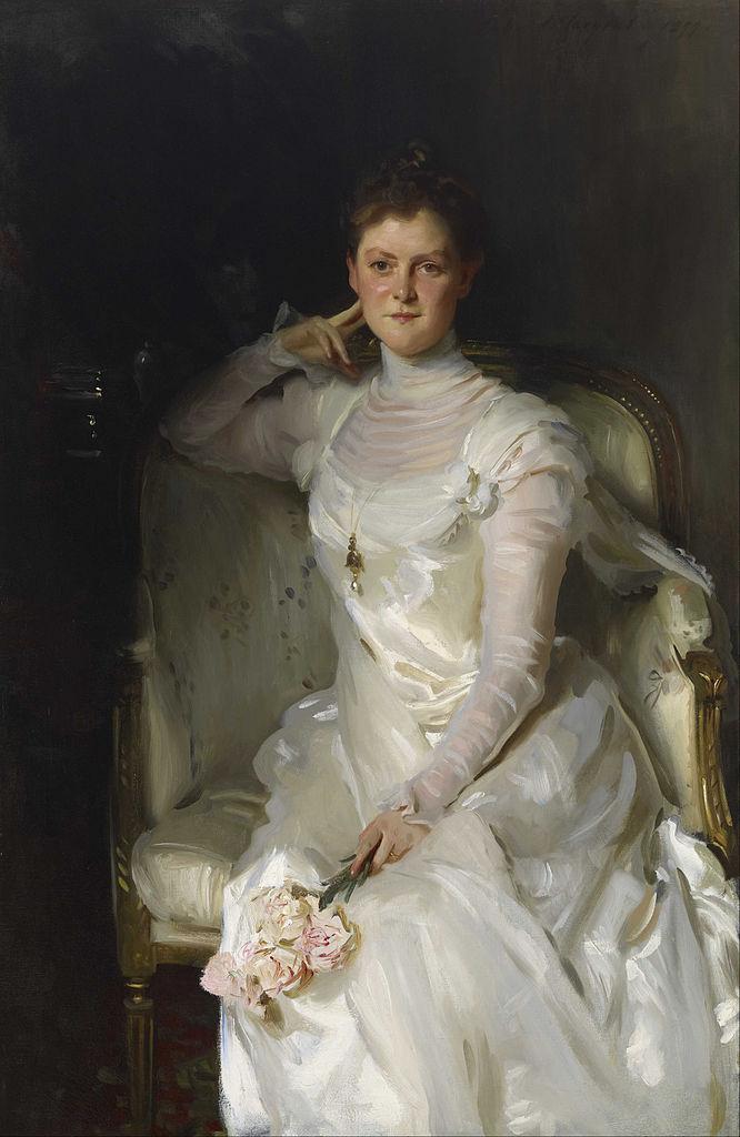 Ca s'est passé en avril ! John-singer-sargent-mrs.-joshua-montgomery-sears-1899