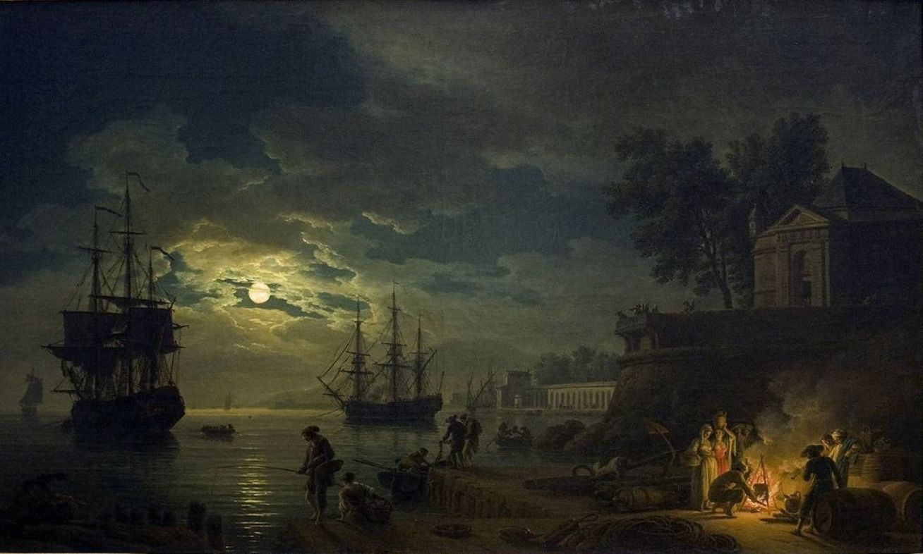 Biographie Et œuvre De Claude Joseph Vernet 1714 1789