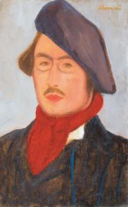 Jozsef Rippl-Ronai. Portrait de Pierre Bonnard (1899)