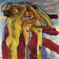 Koloman Moser. Les Trois Grâces (1900)