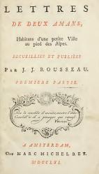 La Nouvelle Héloïse (première édition)