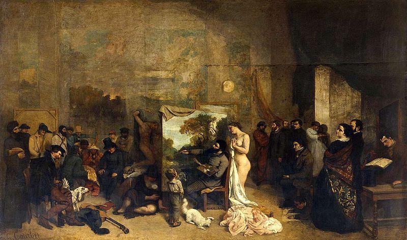 Atelier du peintre (1854)
