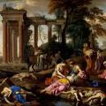 Laurent de la Hyre. La Mort des enfants de Béthel (1653)