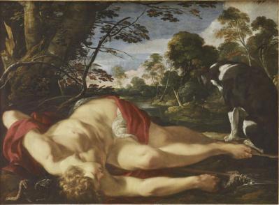 Laurent de la Hyre. Adonis mort (1624-28)