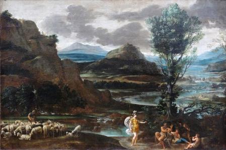 Le Dominiquin. Herminie chez les bergers (1622-25)