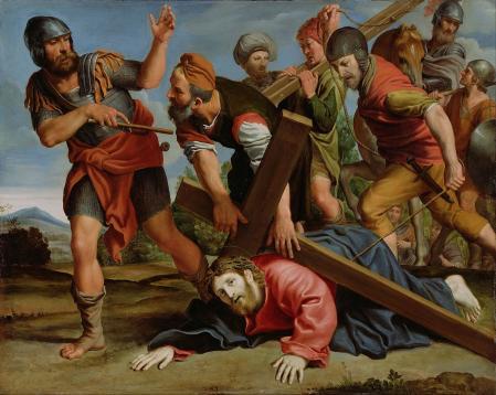 Le Dominiquin. Le chemin du calvaire (1610)