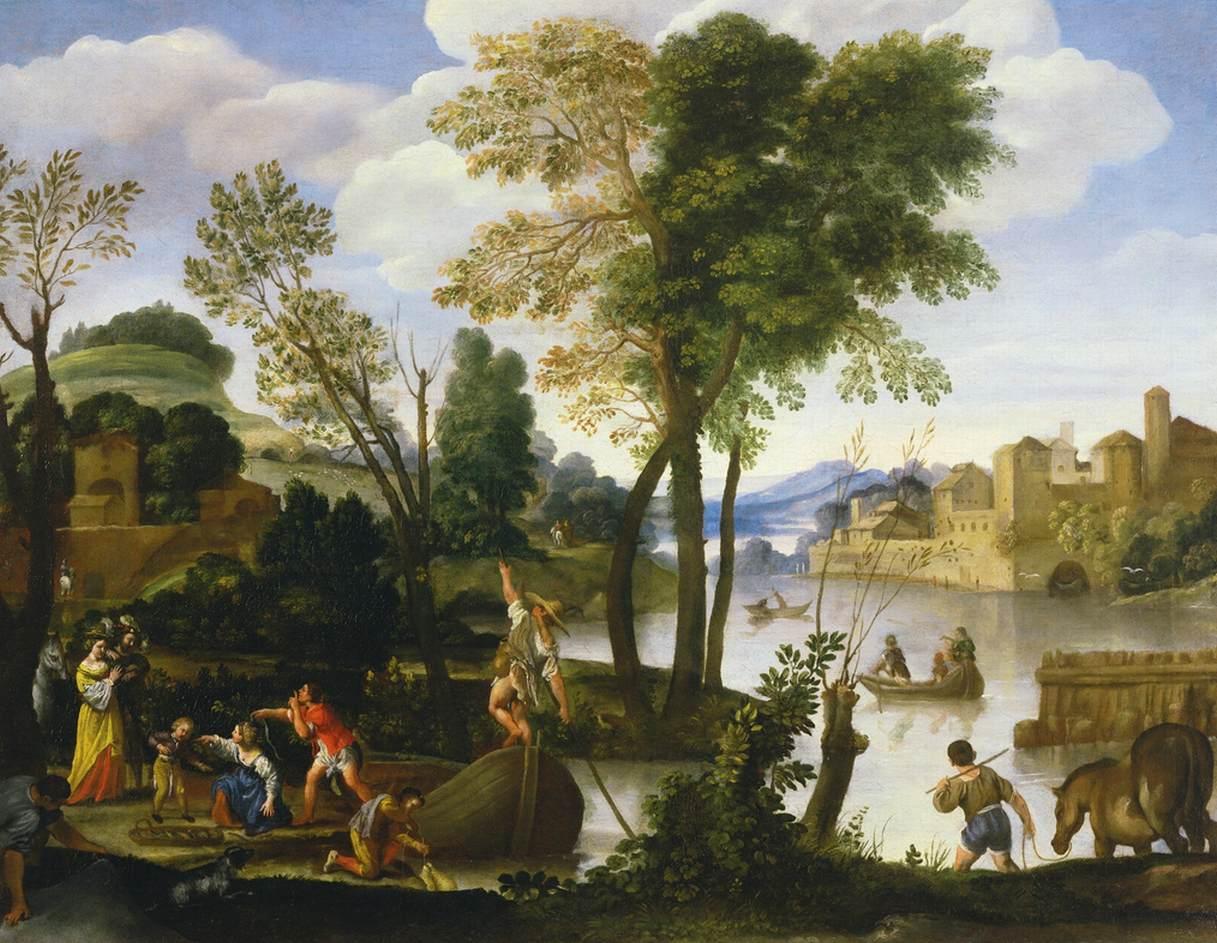 histoire de la peinture de paysage au 17e si cle. Black Bedroom Furniture Sets. Home Design Ideas