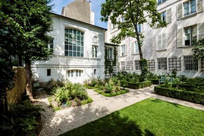 Le musée Delacroix aujourd'hui, côté jardin